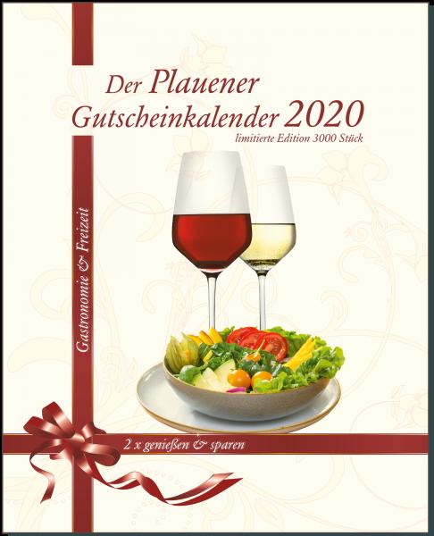 Der Plauener Gutscheinkalender 2020 für Gastronomie und Freizeit