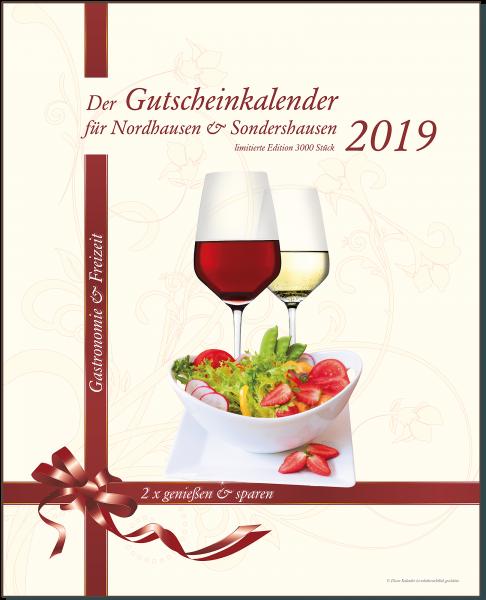 Der Gutscheinkalender für Nordhausen & Sondershausen 2019