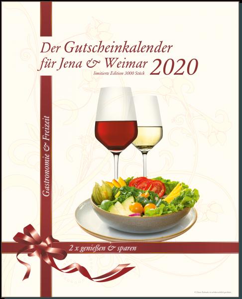 Der Gutscheinkalender für Jena & Weimar 2020