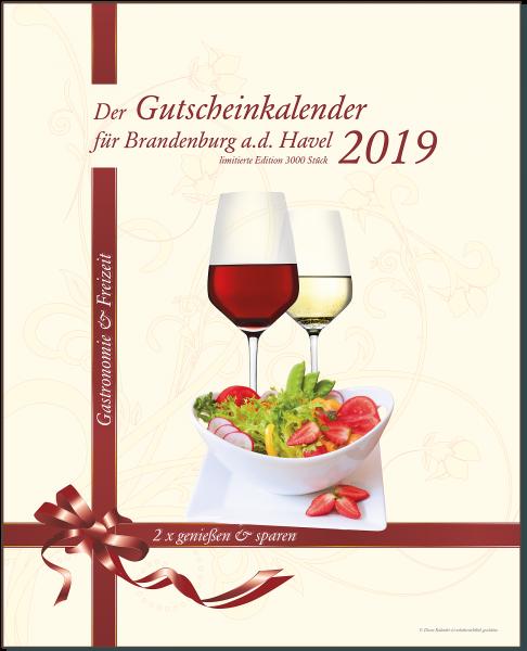 Der Gutscheinkalender für Brandenburg an der Havel 2019