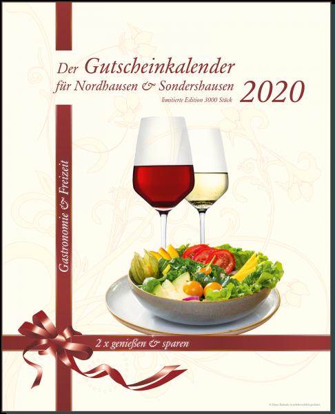 Der Gutscheinkalender für Nordhausen & Sondershausen 2020